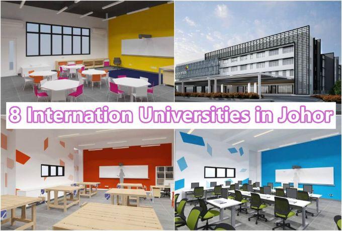 8 International Universities in Johor (Pick One)