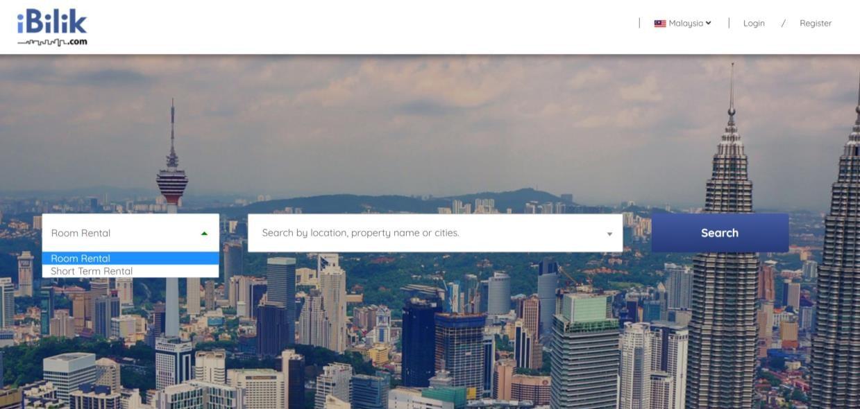 Top 6 Room Rental Website in Malaysia
