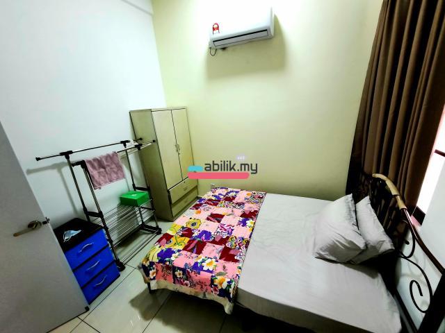 Bukit Indah Room, Fully Furnished,  RM 430!!! - 2
